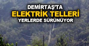 Demirtaş'ta Elektrik...