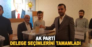 AK Parti delege seçimlerini tamamladı