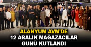 Alanyum AVM'de 12 Aralık Mağazacılar Günü kutlandı