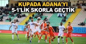 Aytemiz Alanyaspor: 5 - Adanaspor: 1