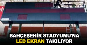 Bahçeşehir Stadyumuna LED ekran takılıyor