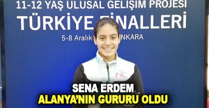 Sena Erdem Türkiye ikincisi oldu