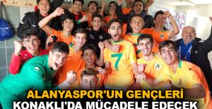 Alanyaspor'un gençleri Konaklı'da mücadele edecek