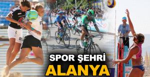 Spor şehri Alanya