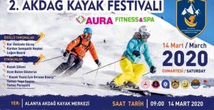 2. Akdağ Kayak Festivali heyecanı başladı