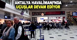 Antalya Havalimanı#039;na Turist...