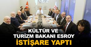 Kültür ve Turizm Bakanı Ersoy istişare yaptı
