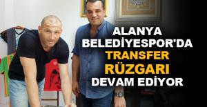 Alanya Belediyespor'da transfer rüzgarı devam ediyor