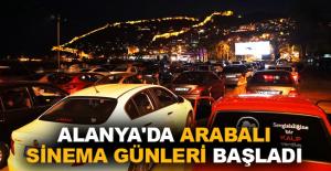 Alanya'da Arabalı Sinema Günleri başladı
