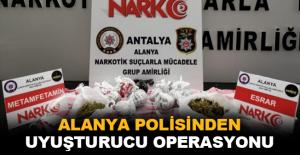 Alanya polisinden uyuşturucu operasyonu