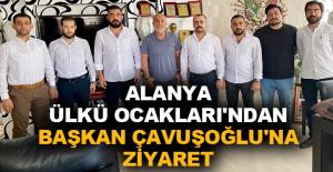 Alanya Ülkü Ocakları'ndan Başkan Çavuşoğlu'na ziyaret