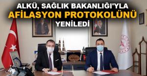 ALKÜ ile Sağlık Bakanlığı arasında iş birliği protokolü imzalandı