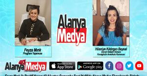 Feyza Mırık ile Pozitif Yaşam bu akşam Alanya Medya'da