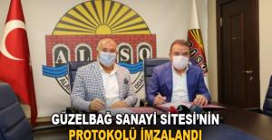 Güzelbağ Sanayi Sitesi'nin protokolü imzalandı