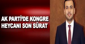 AK Parti'de kongre heyecanı son sürat