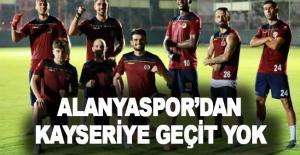 Alanyaspor'dan Kayseri'ye geçit yok