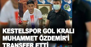 Kestelspor, gol kralı Muhammet Özdemir'i transfer etti