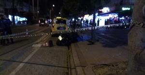 Alanya#039;da ölümlü motosiklet...