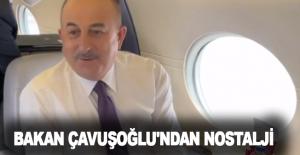 Bakan Çavuşoğlu'ndan nostalji