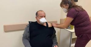 Alanya'da 30 bin kişi aşılandı