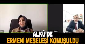 ALKÜ'DE Ermeni meselesi konuşuldu