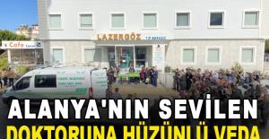Sevilen Doktor Aliye Aydoğan'a Veda