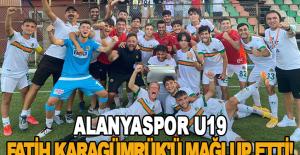 Alanyaspor U19 Fatih Karagümrük'ü mağlup etti!