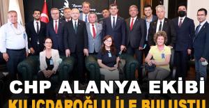 CHP Alanya Ekibi Kılıçdaroğlu ile Buluştu