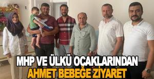 MHP ve Ülkü Ocaklarından Ahmet bebeğe...
