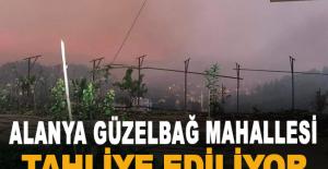Güzelbağ Mahallesi tahliye ediliyor