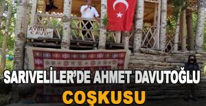 Sarıveliler'de Ahmet Davutoğlu coşkusu
