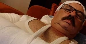 Alanya'da Hasan Kılınç kaza geçirdi