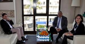 Özarslan'dan Başkan Şahin'e Ziyaret