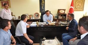 Alanyalı Veterinerlerden Başkan Yücel'e Ziyaret