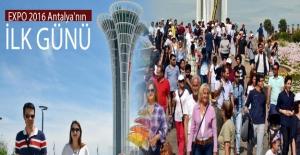 Antalya Expo 2016 Antalya'nın İlk Günü Renkli Etkinliklerle Geçti