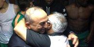 Alanyaspor, Göztepe Maçını Kazandı, Bakan Çavuşoğlu Soyunma Odasına İndi