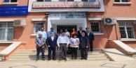 Azerbaycan Kanalı Azad Tv'den Kaymakam Tanrıseven'e Ziyaret