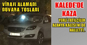 Ankara Testisi Kale Yolunda Kırıldı