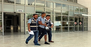 Kadın turistin çantasını çalan kapkaççı yakalandı