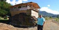 Karadenizli Girişimci, Hayal Ettiği Restoranı Kaya Üzerine İnşa Etti