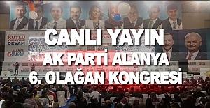 AK Parti Alanya 6. Olağan Kongresi Canlı Yayın