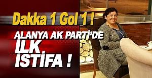 Alanya AK Parti'den İlk Çatlak Ses
