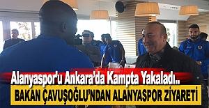 Çavuşoğlu, Alanyaspor'u Kampta Ziyaret Etti