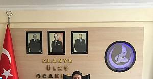 23 nisan Alanya ülkü ocakları başkanı