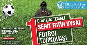 Şehit Fatih Uysal futbol Turnuvası