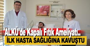 ALKÜ'de Kapalı Fıtık Ameliyatı