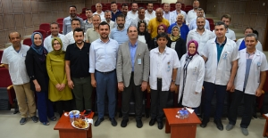 Ak Parti Yönetiminden Hastane Ziyareti