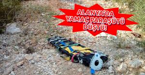 Alanya'da Yamaç Paraşütü Düştü