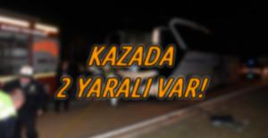 Alanya'da Yolcu Otobüsüyle Midibüs Çarpıştı