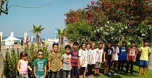 Alanya yaz spor okulları çalışmaları başladı